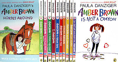 Amber Brown 1-12 Amber Brown Is Not a Crayon++by Paula Danziger (Paperbacks) NEW