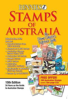 Renniks Stamps of Australia Latest Edition. Free Shipping Now!!!!