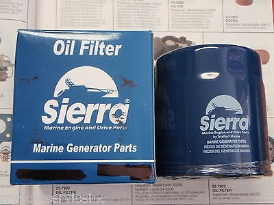 Westerbeke Generator Sierra 23-7801 Oil Filter 35595 Boatingmall Ebay Boat Part