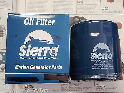 Westerbeke Generator Sierra 23-7826 Oil Filter 40154 Boatingmall Ebay Boat Parts