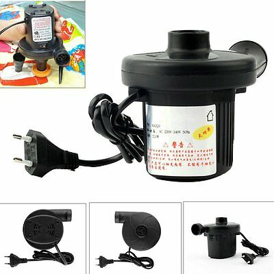 220V AC Electric Air Pump Inflate Deflate for Air Bed Compression Mattress Toys