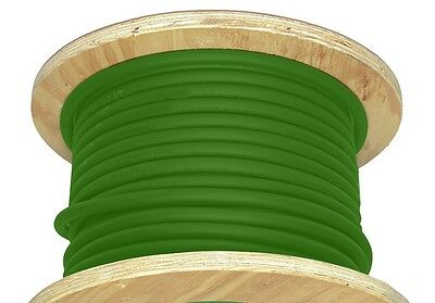 50' 2/0 AWG Welding Cable Green Flexible Outdoor Wire