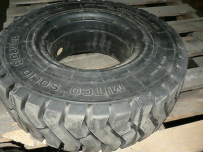 Mitco Solid Forklift Tire 6.50-10 5.00