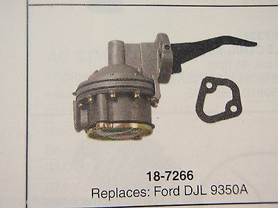 Fuel Pump Sierra 18-7266 Fits Ford Djl 9350A Boatingmall Ebay Boat Engine Parts