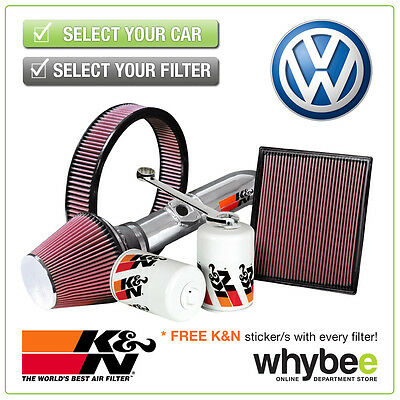 VOLKSWAGEN Golf Mk6 All K&N KN Performance Filters inc Air, Oil & Intake Kits