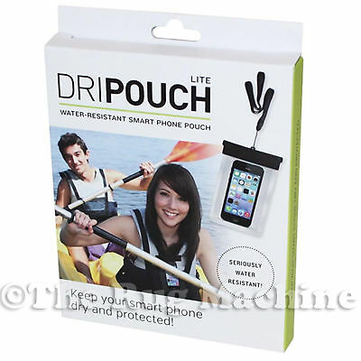 DRIPOUCH - Water Resistant Smart Phone Pouch Splash Sand Dush Proof *NEW*