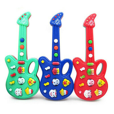 New Baby Kids Cute Electronic Guitar Rhyme Developmental Music Sound Child Toy