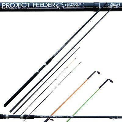 Canna da pesca poject feeder team specialist vette intecambiabili 3,60 mt PLE