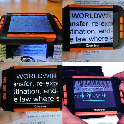 """3.5"""" LCD Low Vision Aid Magnifier Portable Electronic Reading Writing Vision Aid"""