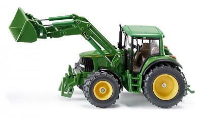 Siku John Deere with Front Loader - 1:32 Scale - Toy Vehicle