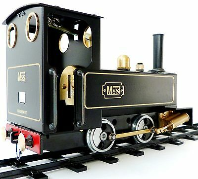 MSS LOCO 0 GAUGE STEAM ENGINE - BUILT AND KIT (see video of what's in the box )