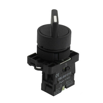 22mm Locking 1 NO Two 2-Position Rotary Selector Select Switch ZB2-ED21