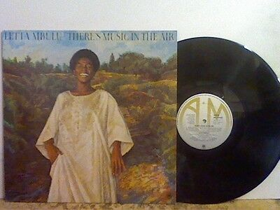 LETTA MBULU  There's Music In The Air   LP  Afro  Soul Funk
