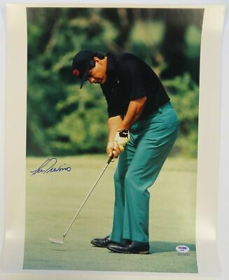 Lee Trevino Signed Golf Authentic Autographed 16x20 Photo PSA/DNA COA