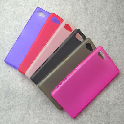 For Sony Xperia Z5 Compact Z5mini Matte TPU Gel Skin Case back Cover