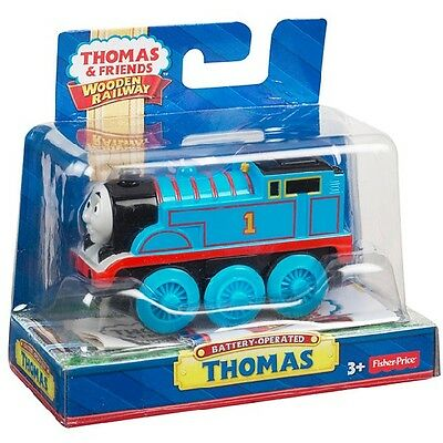 Fisher Price Thomas&friends Y4110 Wooden Railway Battery-Operated Thomas Neu Ovp