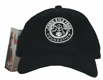 CHRIS KYLE FROG Foundation Logo Hat American Sniper One Size Stretchable Cap