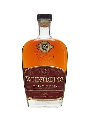 Whistle Pig 12 Year Old Rye Old World Madeira Cask Rye Whiskey 750ml
