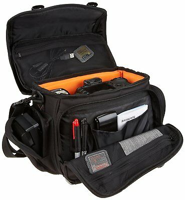 Large Camera Bag Gadget Messenger Interior Storage Carry Case Ipad Tablet photo
