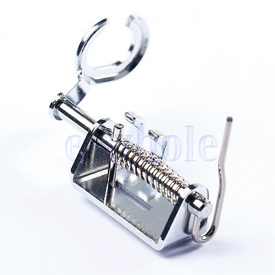 Low Shank Metal Open Toe Free Motion Quilting Foot FIT BROTHER JANOME SINGER TW