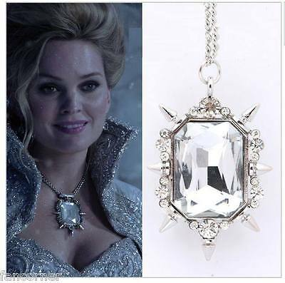 Once Upon A Time pendentif de Glinda saison 3 OUAT Glinda's replica necklace