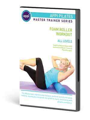 Appi Pilates Foam Roller Workout/ New Dvd From The Pilates Experts