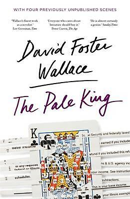 The Pale King by David Foster Wallace Paperback Book Free Shipping!