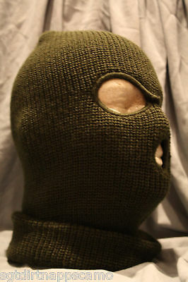 Canadian Forces Winter Olive Drab Balaclava 3-Hole