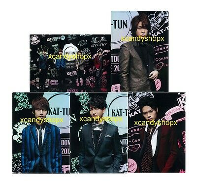 Japan KAT-TUN COUNTDOWN LIVE 2013 official clear file