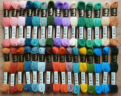 Dmc Tapestry Wool Shades 7362 To 7466 One Skein 120 2 060 Each