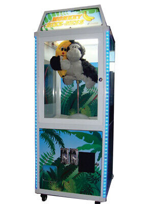 Coast to Coast Monkey Bizz-ness Crane Arcade Machine with MEI DBA