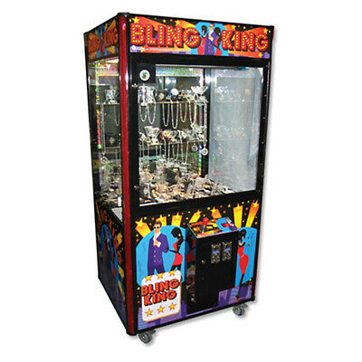 Coastal Amusements Bling King Jewelry Redemption Crane Claw Machine 40""