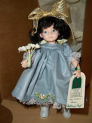 "Robin Woods Anne ""Buttercup Days"" 8"" Vinyl Doll - Made in 1990 W/Box & Tag"