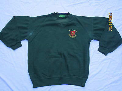 Sweat Shirt: Army Training Regiment, Winchester, Gr. Large