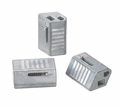 """B-Line BKC100 KwikWire Wire Rope Clamp for 1/16"""" & 3/32"""" Cable (Rize KL100 Lock)"""