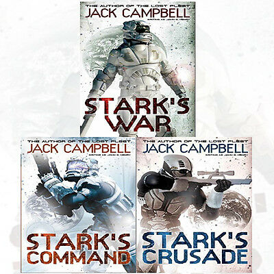 Stark's War Collection Jack Campbell 3 Books Set Pack,Stark's Command, Brand NEW
