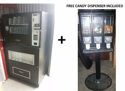Genesis GO 127 Vending machine + Free Candy Dispenser - local pick up