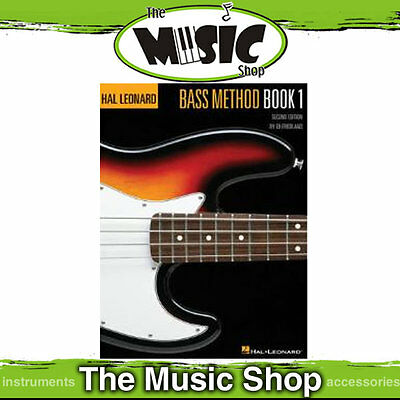 New Hal Leonard Bass Guitar Method Book 1 2nd Edition - Learn to Play Bass