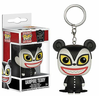 Nightmare Before Christmas Vampire Teddy Pocket Pop! Keychain NBX