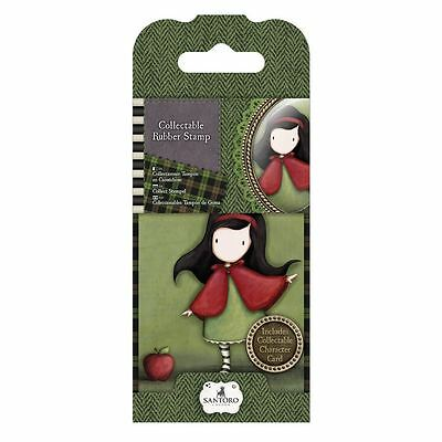 Gorjuss Collectable Rubber Stamp -Santoro -No.14 Little Red for Crafts