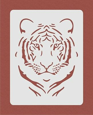 Tiger Stencil for Airbrush Crafting Card Making Art Work Wall Art R1
