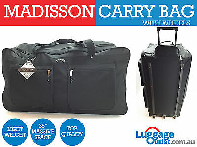 Madisson Travel Luggage 3 Wheels Trolley Sports Carry bag with Top Quality