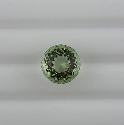Natural Green Amethyst Faceted Cut 12mm Round 1 Pieces Loose Gemstone