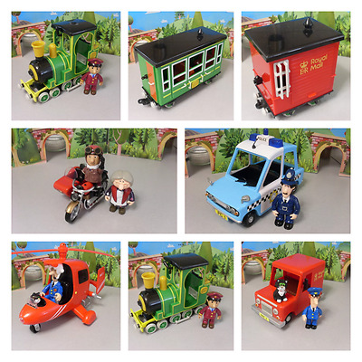 Postman Pat Vehicles And Figures -- Please Select Fro The Stock Menu