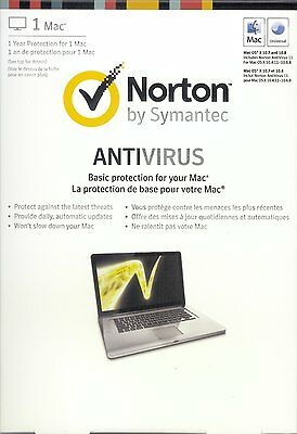 Symantec Norton Antivirus Mac 12.0 / 1 User / 1 Year Protection