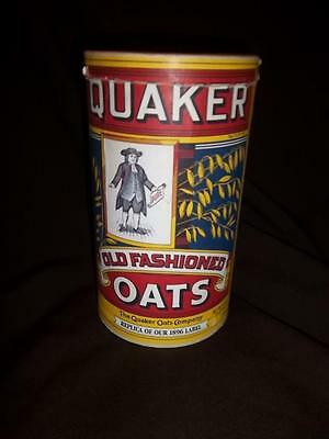 Vintage Quaker Oats Cereal Container