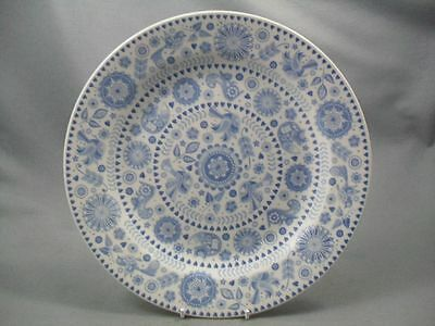 Queen's Penzance Dinner Plate - Concentric Circles