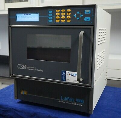 CEM LabWave9000 Microwave Moisture Solids Analyzer- 1 year warranty/Shipping