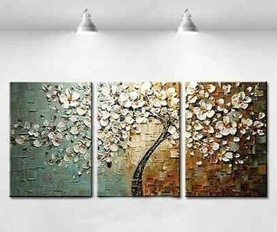 Framed!!! Handmade Large Modern hand-painted Art Oil Painting Wall Decor canvas