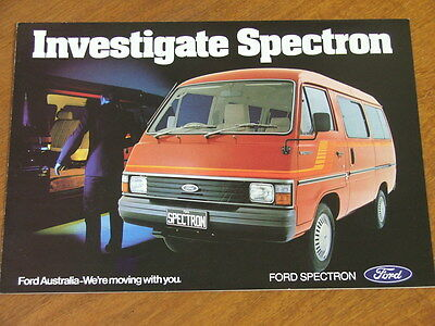 1983 Ford Spectron original 4 page brochure